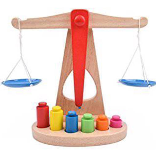 Picture of Wooden Balance Scale