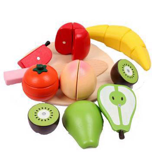 Picture of Wooden Assorted Fruit Set