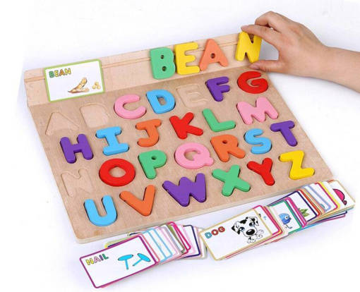 Picture of See and Spelling Board