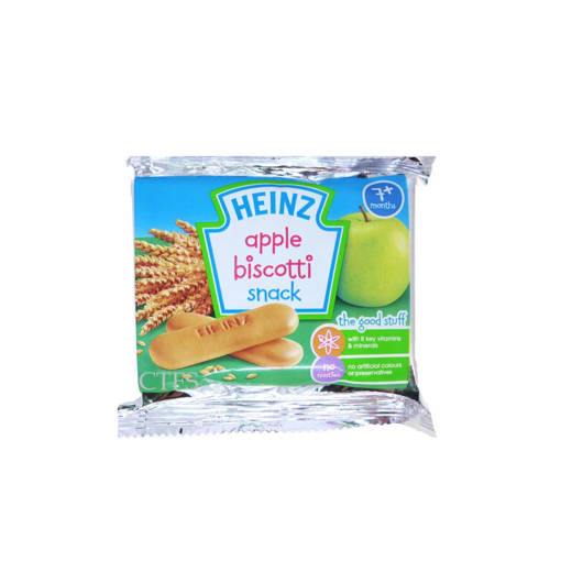 Picture of BABY BISCOTTI (48X60G) HEINZ APPLE