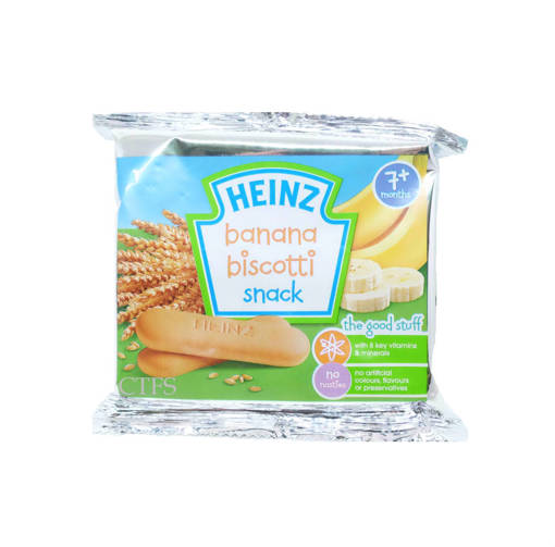 Picture of BABY BISCOTTI (48X60G) HEINZ BANANA
