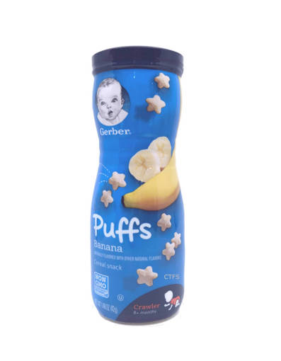 Picture of SNACKS-GRAD.PUFF(6X42G)BAN-GERBERS