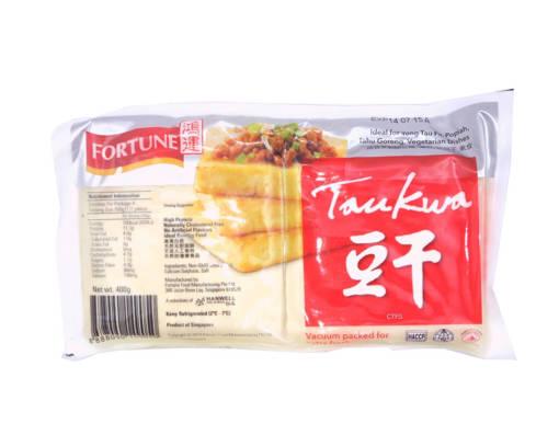 Picture of TAU KWA(2PCS/PKT/450GMS)SOYA BEAN CAKE