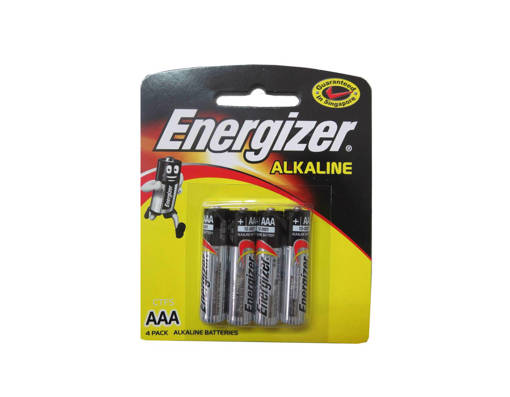 Picture of BATTERY(10X20PKT)ENERGIZER-4AAA