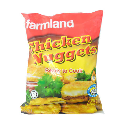 Picture of CHICKEN NUGGETS (15X1KG) FARMLAND