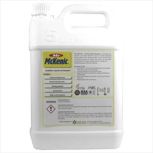 Picture of Mr McKenic General Liquid Detergent™ (5L) (Dishwashing Liquid)