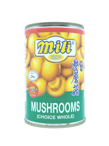 Picture of BUTTON MUSHROOM(24X425GM)MILI-HALAL