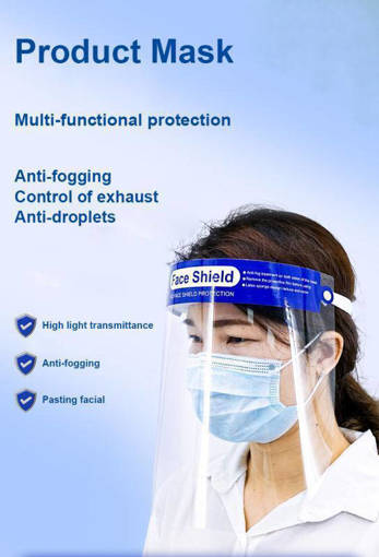 Picture of Transparent Face Shield (Non-adjustable)