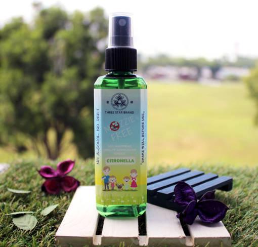 Picture of TSB Mozzie Free - Natural Mosquito Repellent (Citronella) [90ml]
