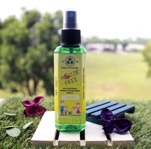 Picture of TSB Mozzie Free - Natural Mosquito Repellent (Lemon) [90ml]