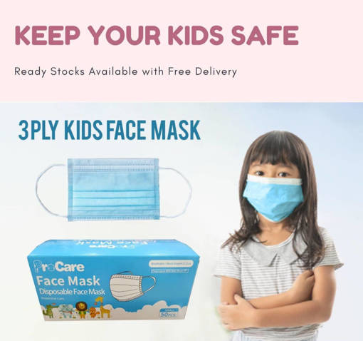 Picture of Kids face mask (1 box)