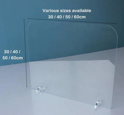 Protective shield - Desk divider