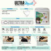 Picture of ULTRAMask (Official Store) K2 3-Ply Anti-Bacterial Mask  (Age 2 to 5) - (Wholesale/bulk purchase - MOQ 500 pieces) - White