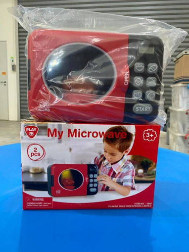 Picture of Children's My Microwave with Lights and Sounds Playset