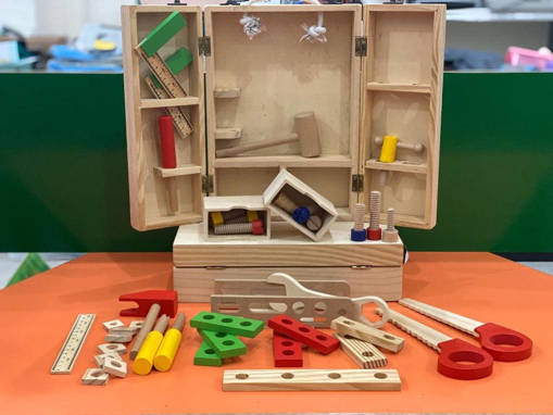Picture of Wooden Multifunctional Tool Set for Early Childhood Montessori Education