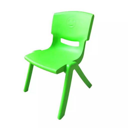 Picture of Children's Backrest Chair (Lime Green)