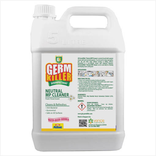 Picture of GK Concentrate™ Neutral Multi Purpose Surface Cleaner™ (5L)