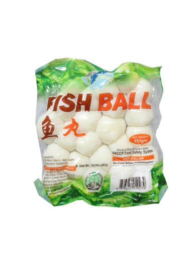 Picture of FISH BALL COOKED (450GMS)P.W-GREEN