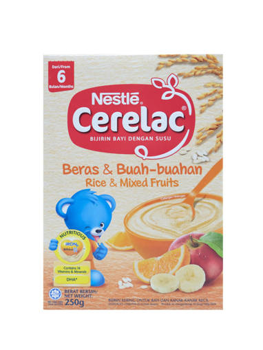 Picture of NES CER.RICE&MIX FRU(24X250GM)YEL-6M