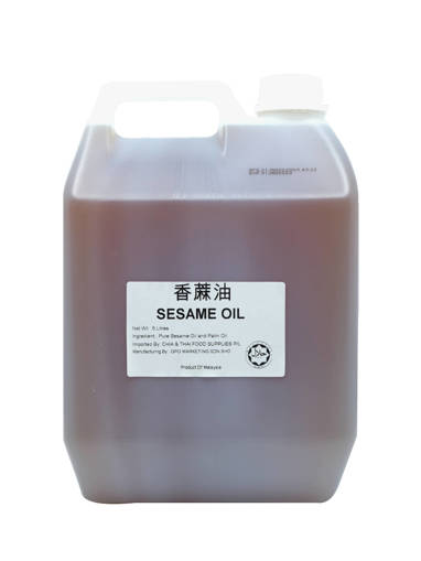 Picture of SESAME OIL (5LTR/TUB) C&T
