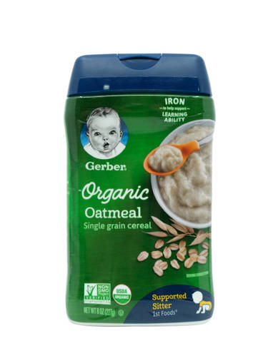 Picture of CEREAL GB ORG.OATMEAL (227G/BOT) 1F