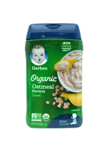 Picture of CEREAL GB ORG.OAT/BAN (227G)