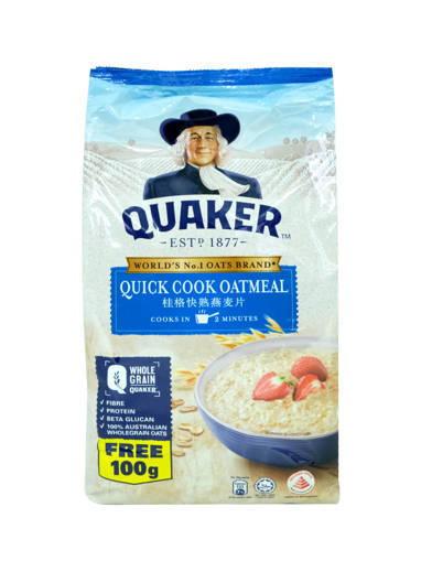 Picture of OAT QUAKER(12X800GMS)-REFILL-BLUE