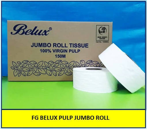 Picture of FG BELUX PULP JUMBO ROLL TISSUE (150M)