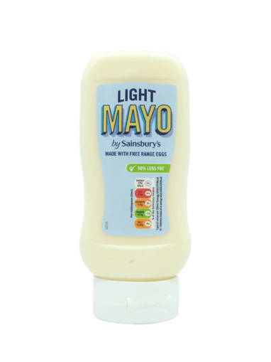 Picture of MAYONNAISE 50% < FAT (410ML/BOT) S.BURY