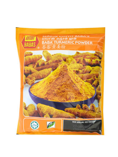 Picture of TUMERIC POWDER(40X250G)BABA'S