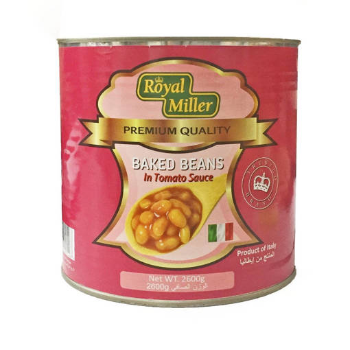 Picture of ROYAL MILLER BAKED BEANS IN TOMATO SAUCE (2.6KG)