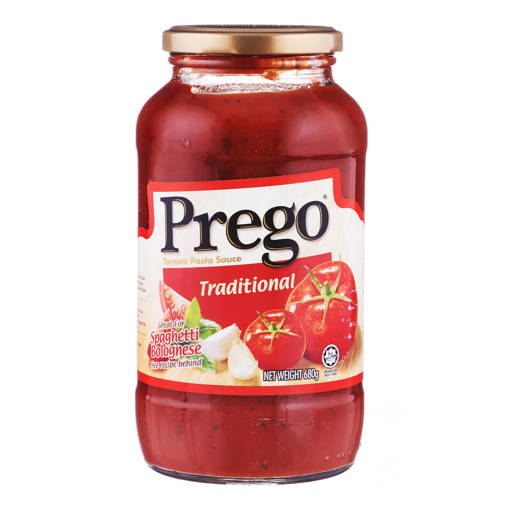 Picture of PREGO TRADITIONAL PASTA SAUCE (680G)