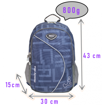 Picture of IMPACT Ergo-Comfort Spinal Support Backpack (HEXAGON)